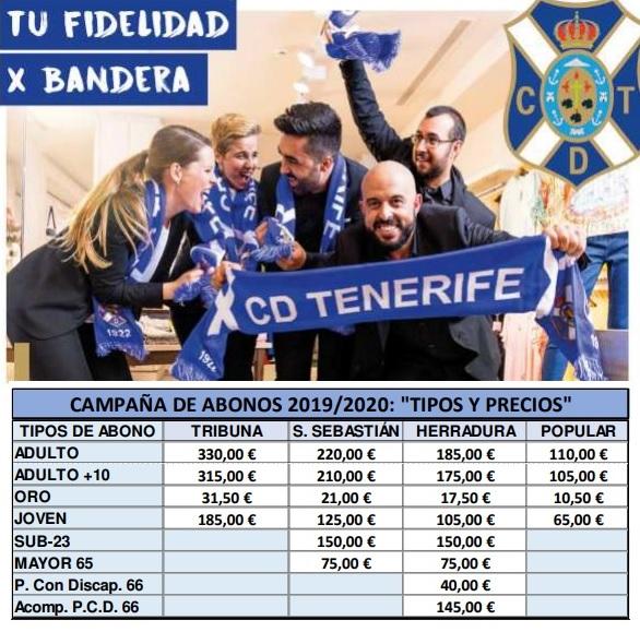 [J16] C.D. Tenerife - Cádiz C.F. - Domingo 17/11/2019 21:00 h. #TenerifeCádiz Abonos10