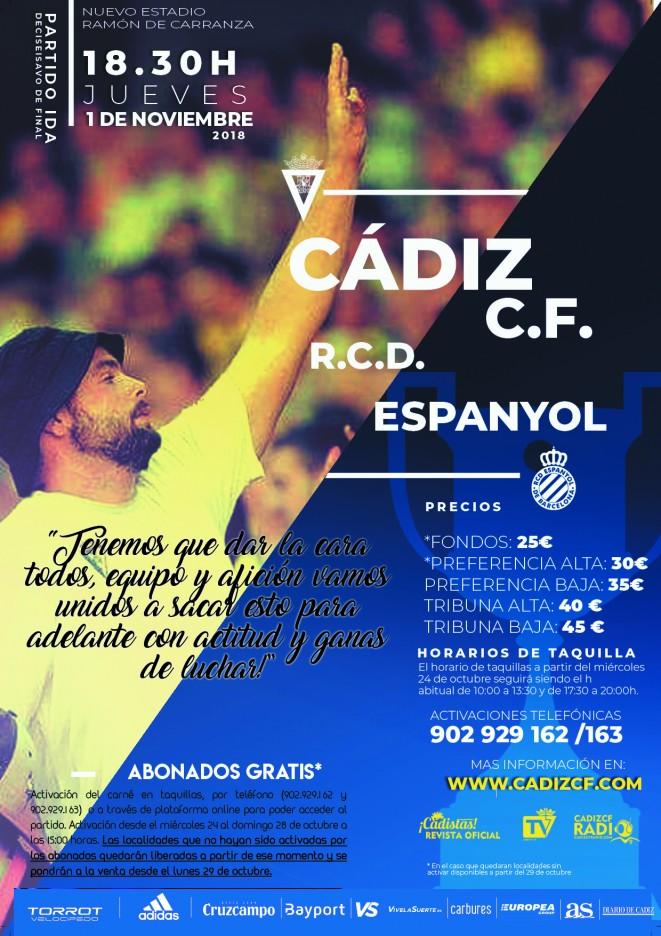 [1/16 - Copa del Rey] Cádiz C.F. - R.C.D. Español - Jueves 01/11/2018 18:30 h. Czediz11