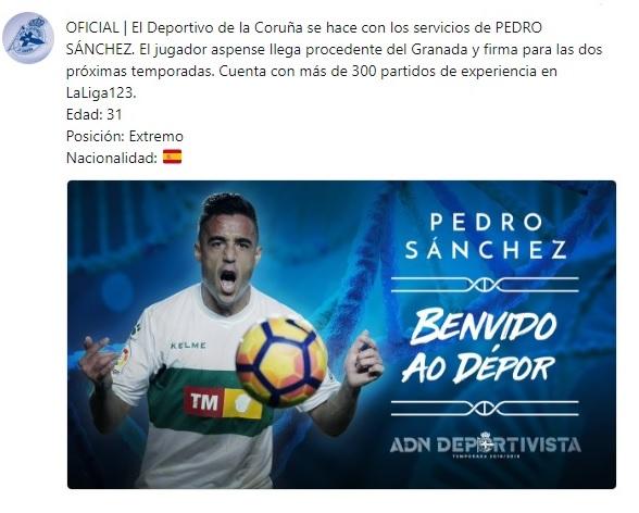 Altas y Bajas confirmadas Liga 1.2.3 Temporada 2018-2019 Pedro10