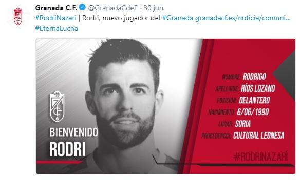 Altas y Bajas confirmadas Liga 1.2.3 Temporada 2018-2019 Rodri10