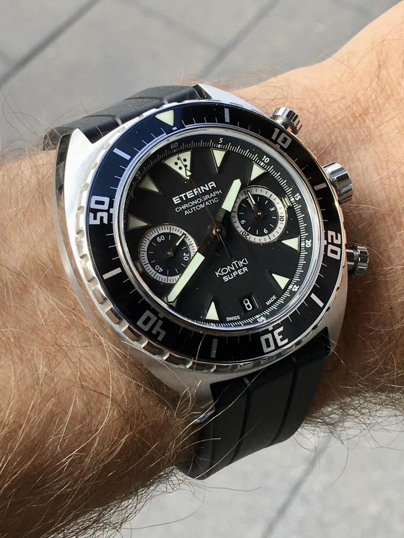 Eterna calibres chronographe 3916A et 3927A D0098310