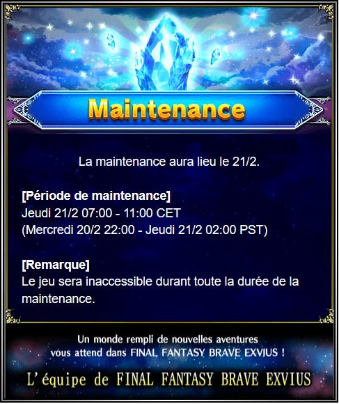 Maintenance 21/02 de 7H à 11H Captu104