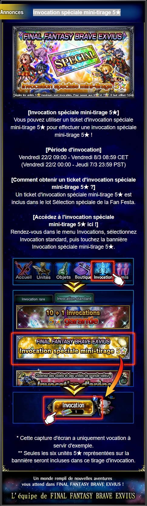 Invocation spéciale mini-tirage 5★ - du 22/02 au 08/03/19 Captu107