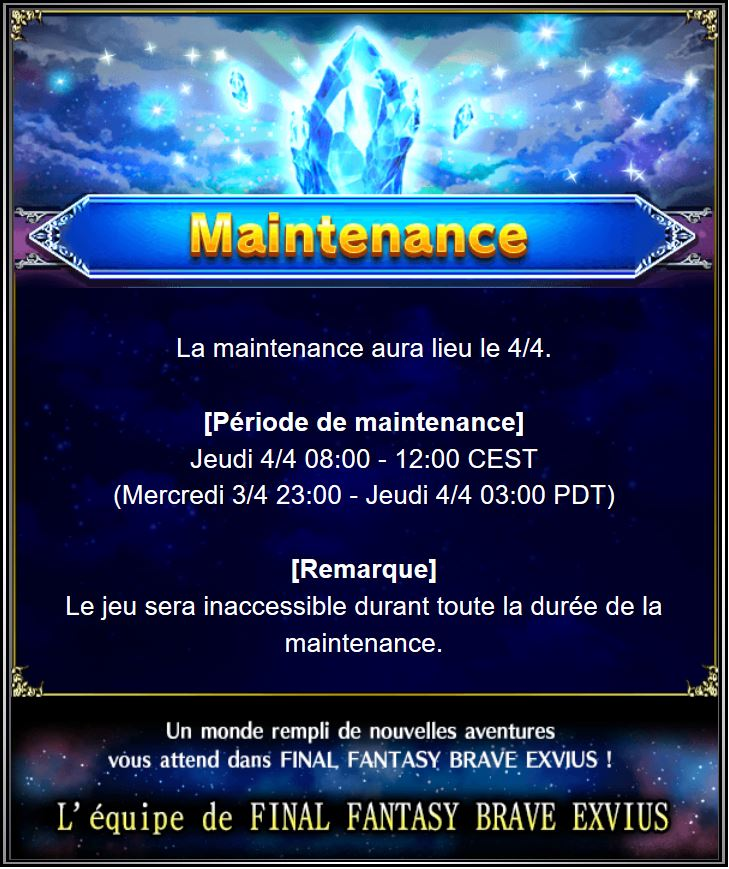 Maintenance 04/04 de 8H à 12H Captu134