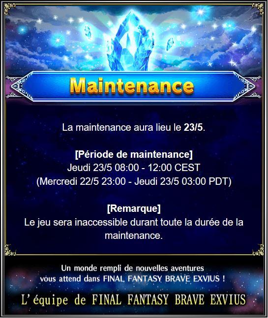 Maintenance 23/05/19 de 8H à 12H Captu147