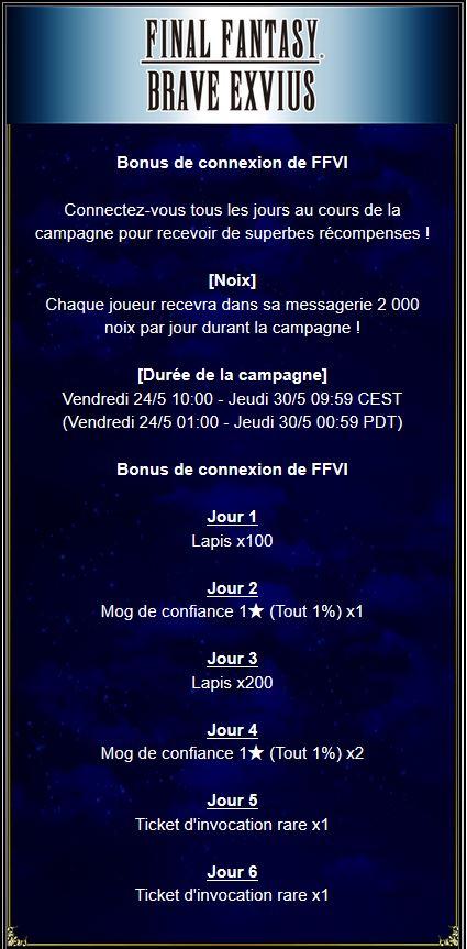 Bonus de connexion de FFVI - du 24/05 au 30/05/19 Captu149