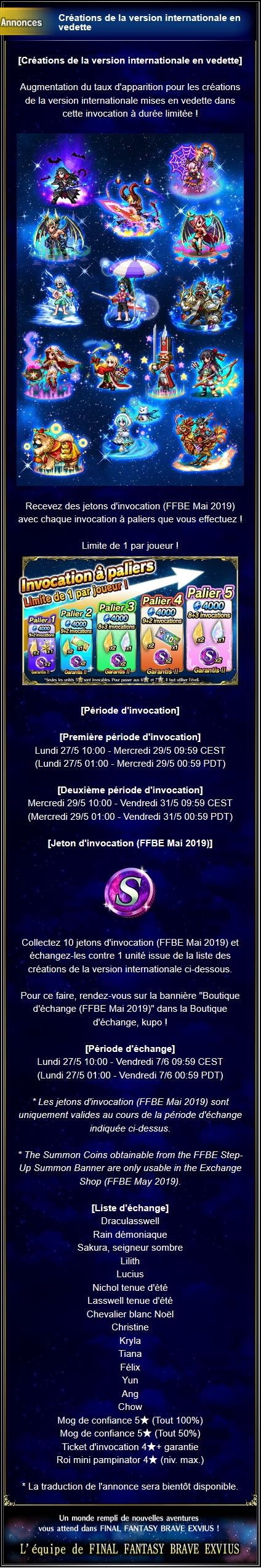 Invocations du moment - FFBE (GLEX) - du 27/05 au 31/05/19 Captu151