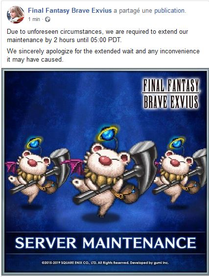 Maintenance 04/07/19 de 8H à 12H Captu168