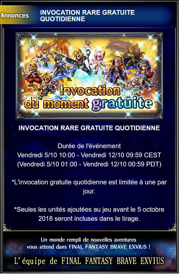 Invocation gratuite quotidienne - du 05/10 au 12/10/18 Captur51