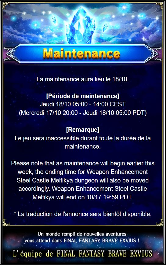 Maintenance 18/10 de 5H à 14H Captur54