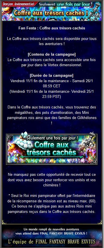 Fan Festa : Coffre aux trésors cachés - du 11/01 au 26/01/19 Captur84