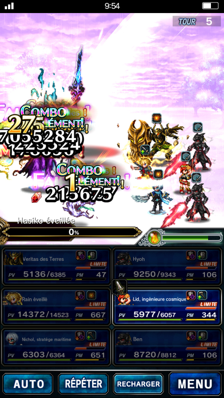 Trial d'Evenement - FFBE - Défi de la Vengeance - du 23/11 au 30/11/18 Scree114