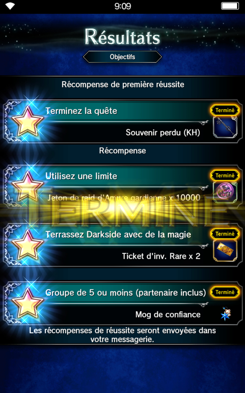 Trial de Raid - Collab KH - Sans-coeur : Darkside - du 04/01 au 11/01/19 Scree123