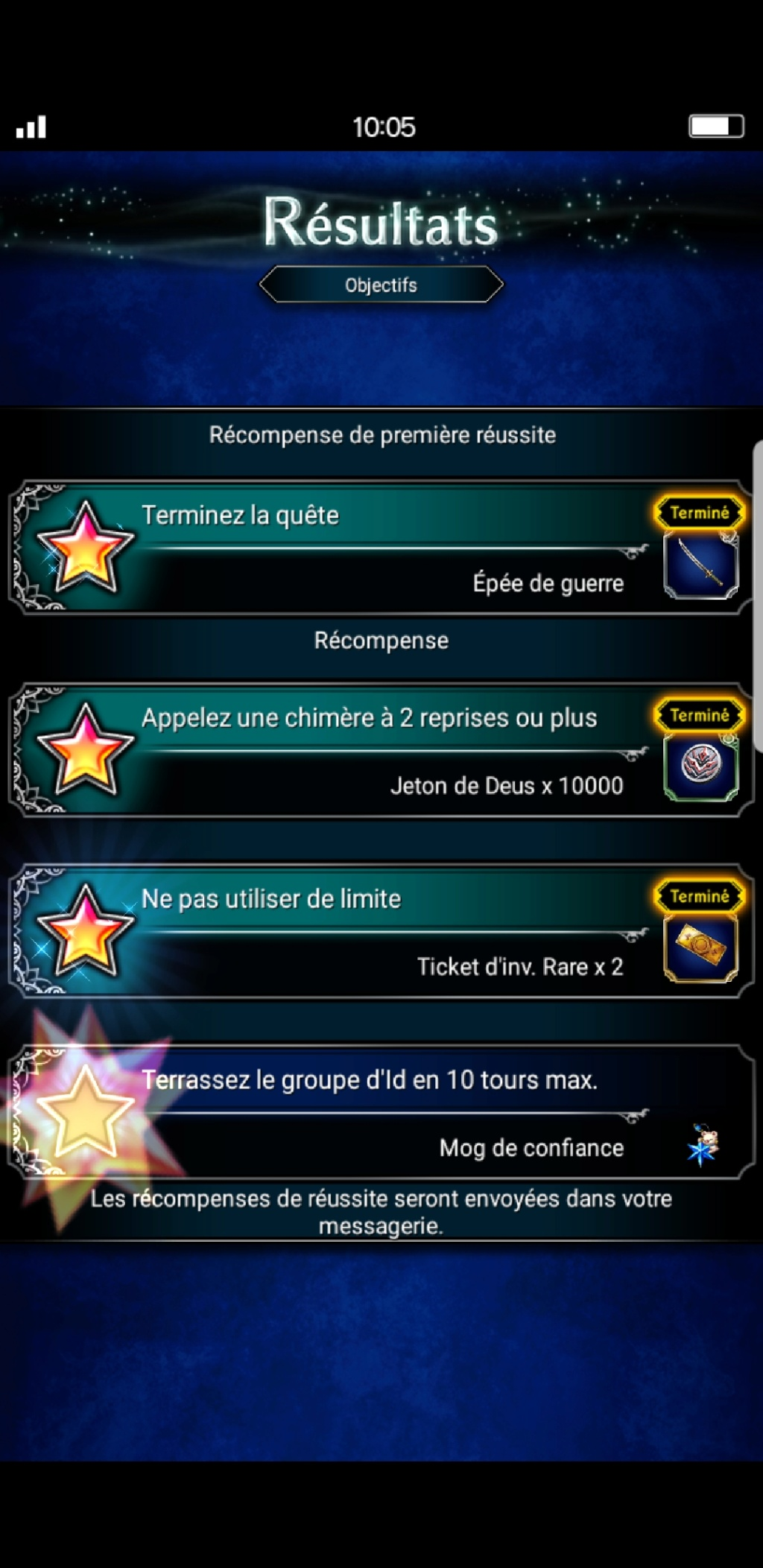 Trial de Raid - Collab XG #2 - Le Gear carmin - du 03/05 au 10/05/19 Scree250