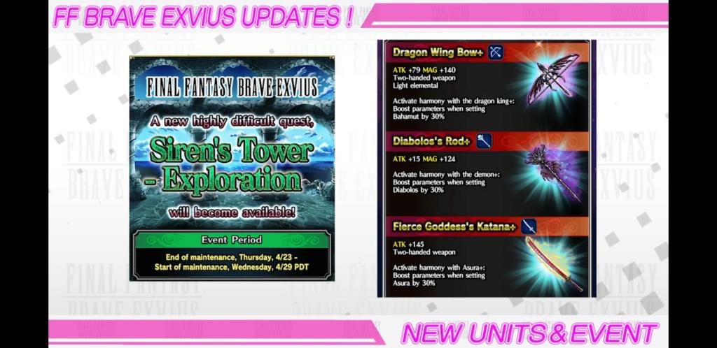Evenement MK (FFBE DV) - Le héraut du Chaos - du 16/04 au 30/04/20 Scree500