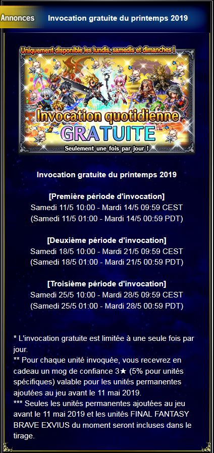 Invocation gratuite quotidienne - Printemps 2019 #2 - à partir du 11/05/19 Temp12