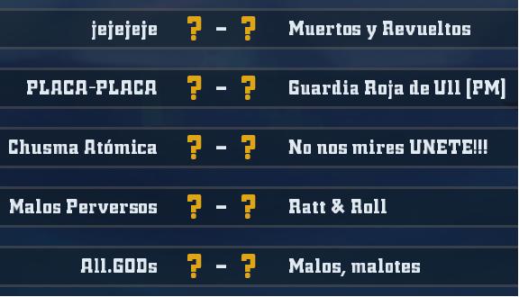 Liga Alianza Mixnotauro 4 - División Cuerno de Plata / Jornada 2 - hasta el domingo 12 de enero J2plat10