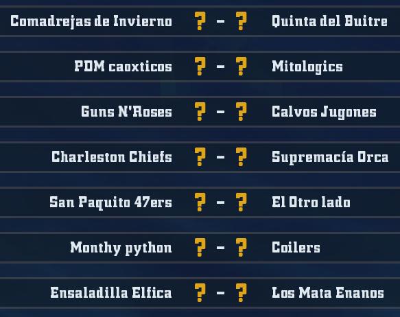 Liga Alianza Mixnotauro 4 - División Cuerno de Bronce / Jornada 4 - hasta el domingo 09 de febrero - Página 2 J4bron11