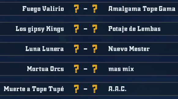 Liga Alianza Mixnotauro 4 - División Cuerno de Oro / Jornada 4 - hasta el domingo 09 de Febrero J4oro11