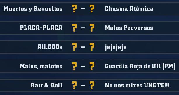Liga Alianza Mixnotauro 4 - División Cuerno de Plata / Jornada 4 - hasta el domingo 09 de febrero J4plat11