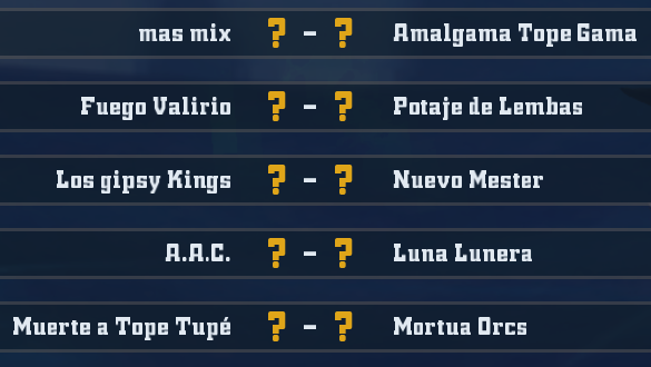 Liga Alianza Mixnotauro 4 - División Cuerno de Oro / Jornada 5 - hasta el domingo 23 de Febrero J5oro11