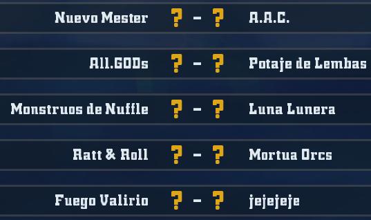 Liga Alianza Mixnotauro 3 - División Cuerno de Plata / Jornada 5 - hasta el domingo 24 de Noviembre J5plat10