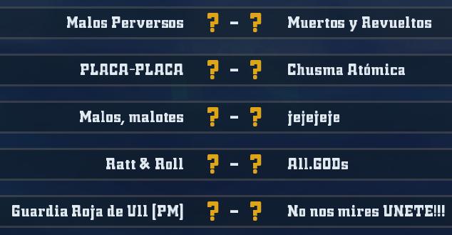 Liga Alianza Mixnotauro 4 - División Cuerno de Plata / Jornada 5 - hasta el domingo 23 de febrero J5plat11