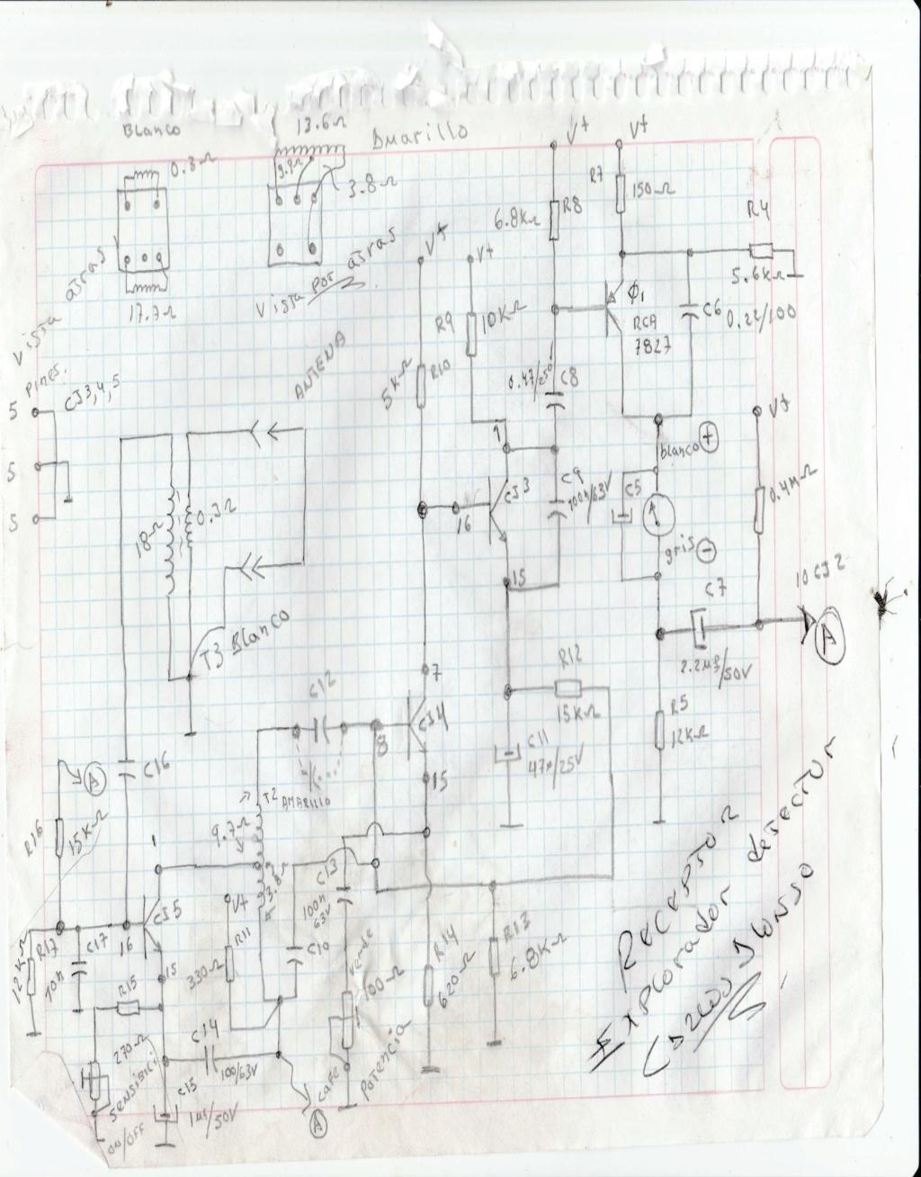 les COMPARTO DIAGRAMA DEL DETECTOR EXPLORADOR Detect12