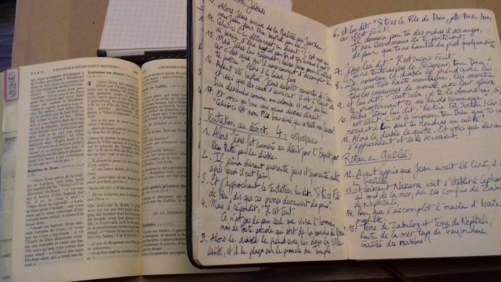Un passe-temps : copier la Bible  20200510