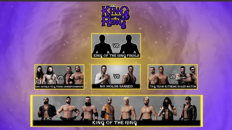 CMV Presents King Of The Ring: 76d5ca10