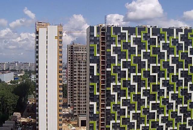 """На ЖК """"Летний сад"""" - начался монтаж фасадных конструкций! Теплозвукоизоляция под ними - лучше, чем у соседнего ЖК """"Город"""" - Страница 6 0112"""