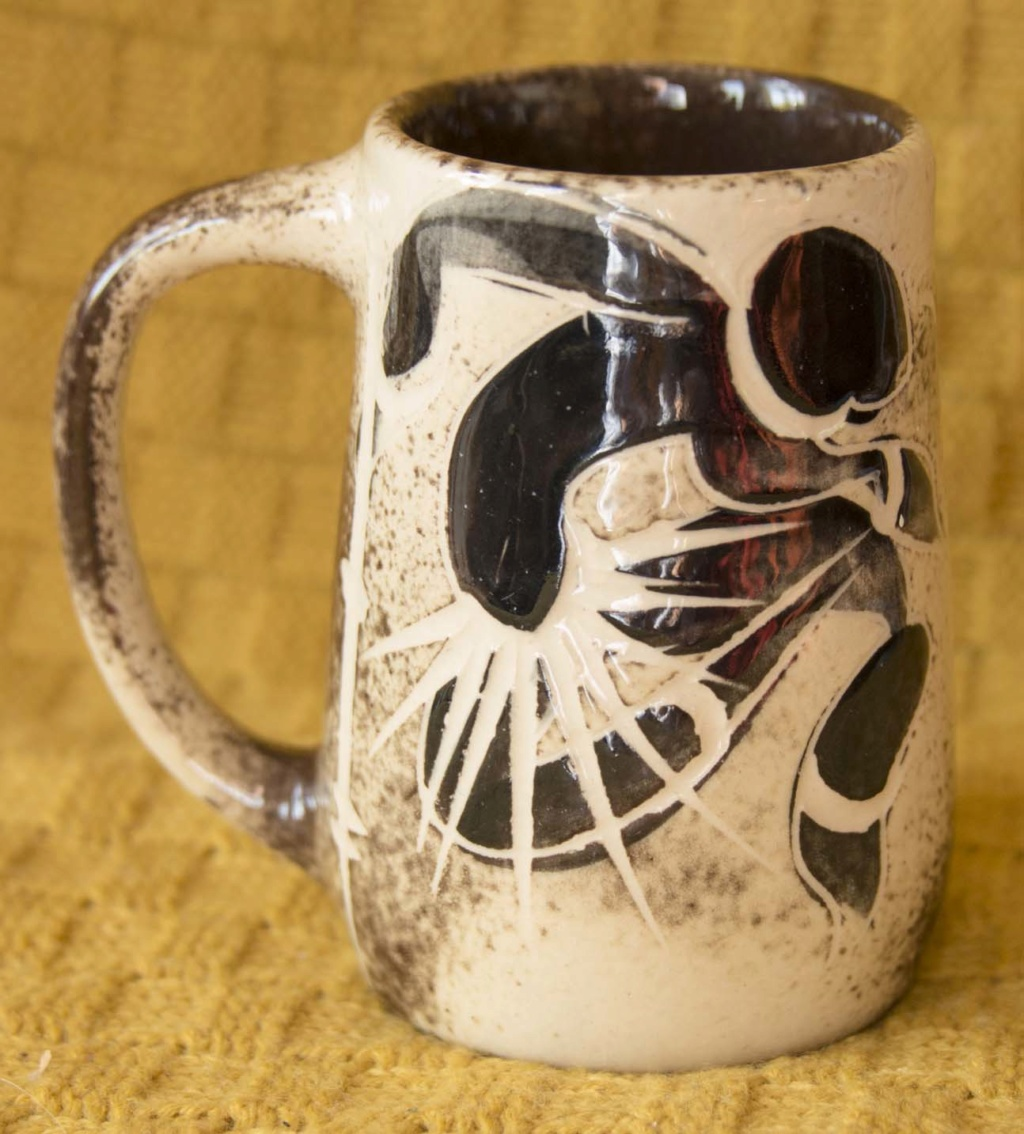 Very stylised design on a mug - Johannesburg Bcup1b10