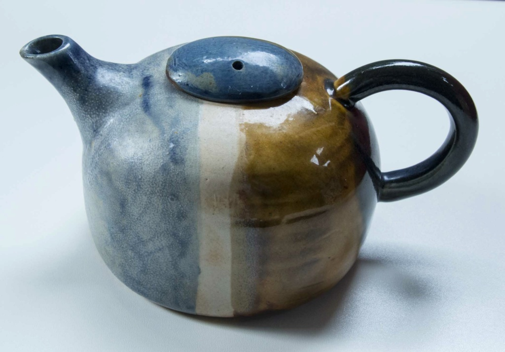 A Colourful Tea Pot Blue-y10