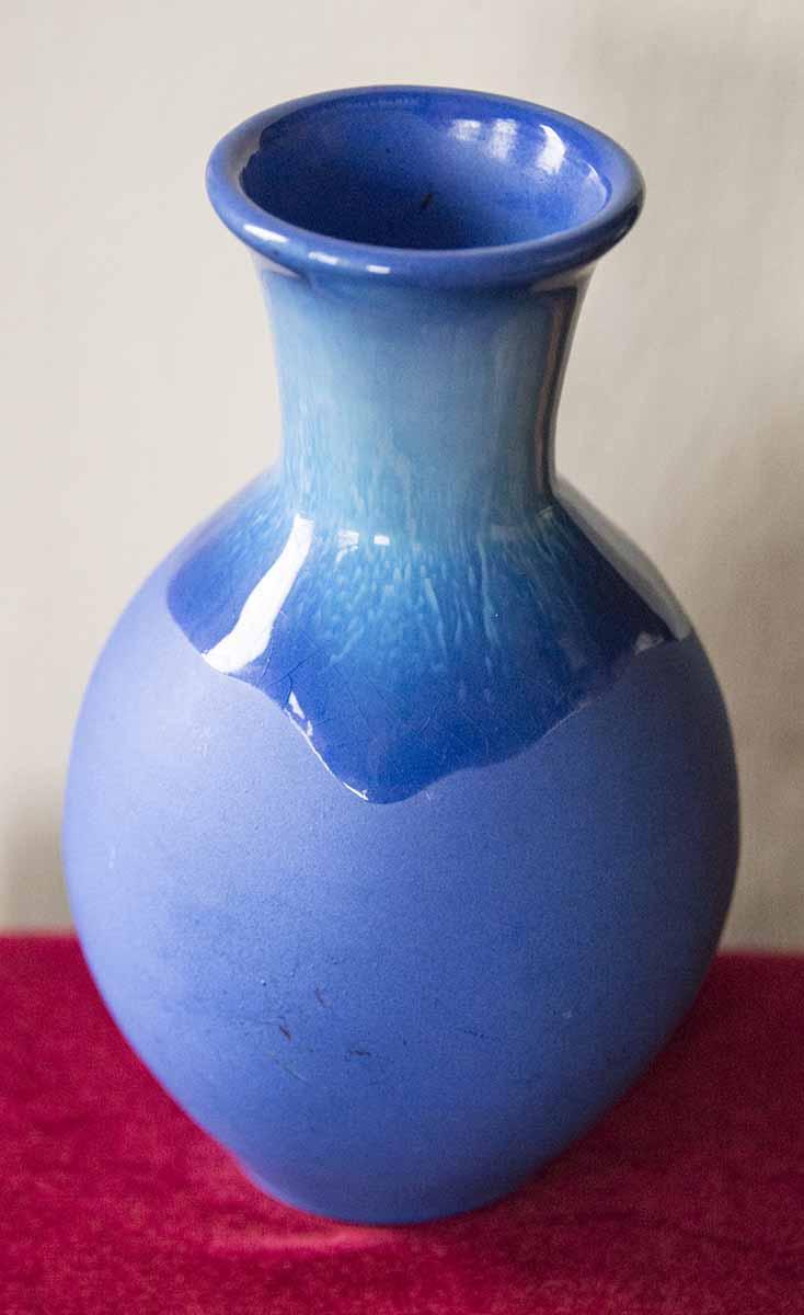 Blue Vase but no hint of maker Bluev211