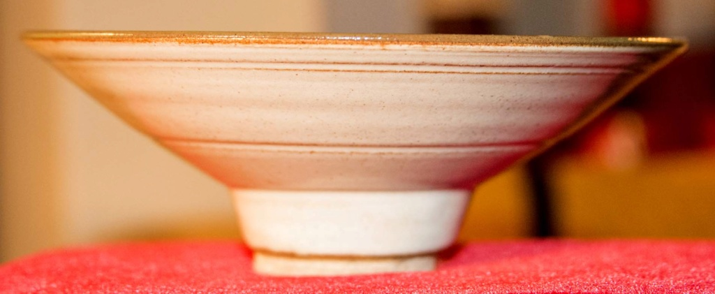 Colourful Bowl - Mike Foster, Gypsy Pottery Fbowl110