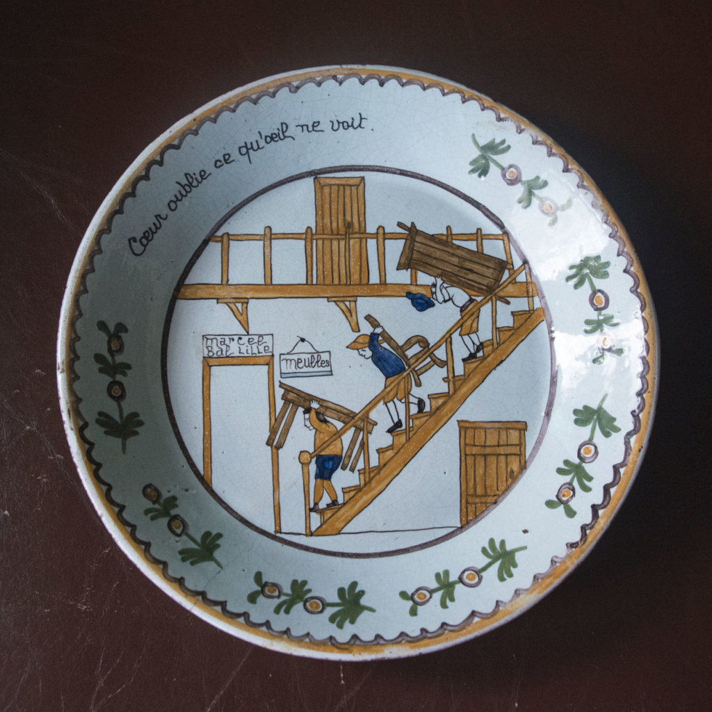 Interesting French Plate - does anybody recognise? French11