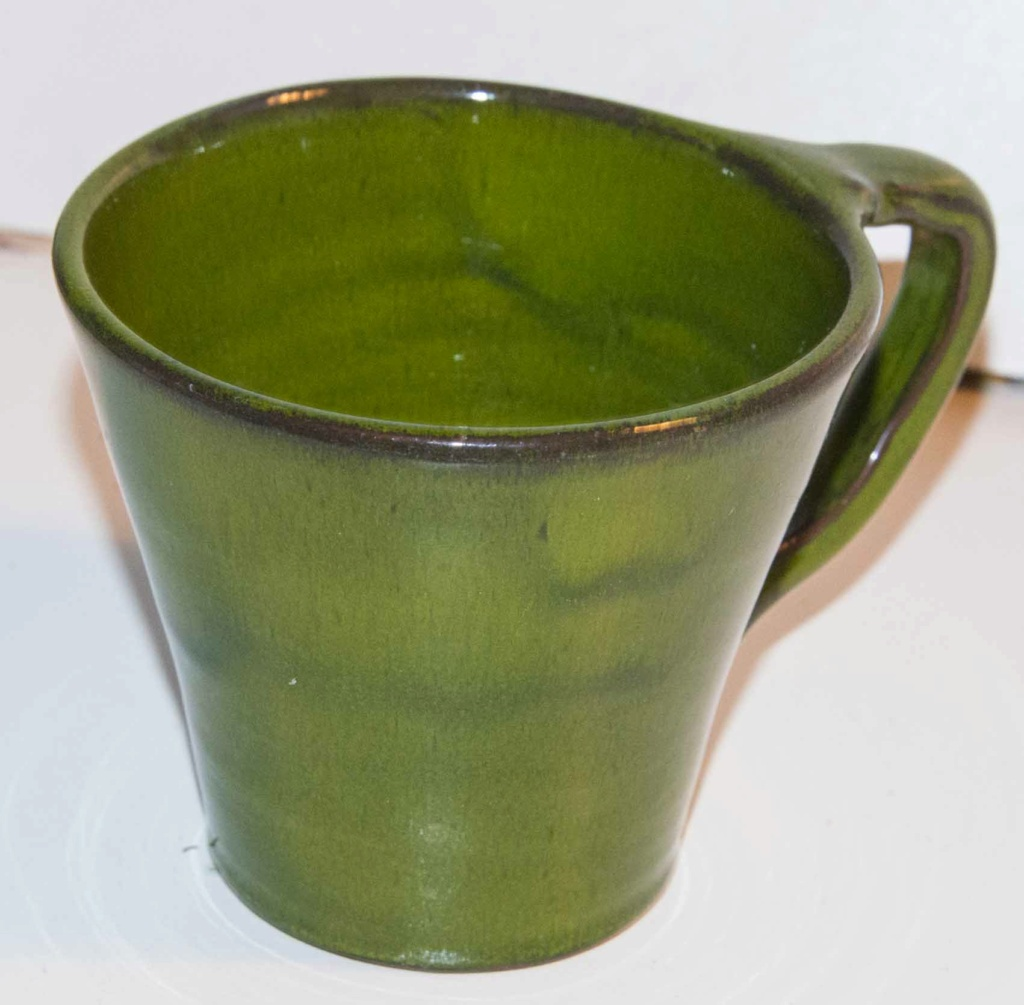 Wonderful Green Cup - but difficult mark Green_31