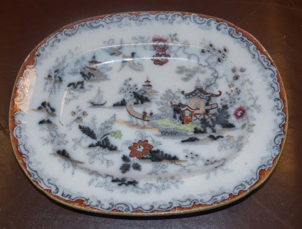 Ironstone China - how can I identify the make? Oplate10
