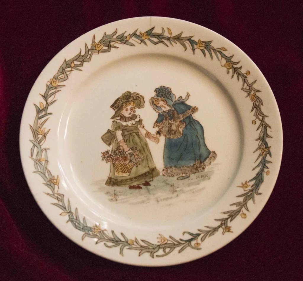 Early Victorian Plate - Howarth? Can anyone help clarify? Vplate10