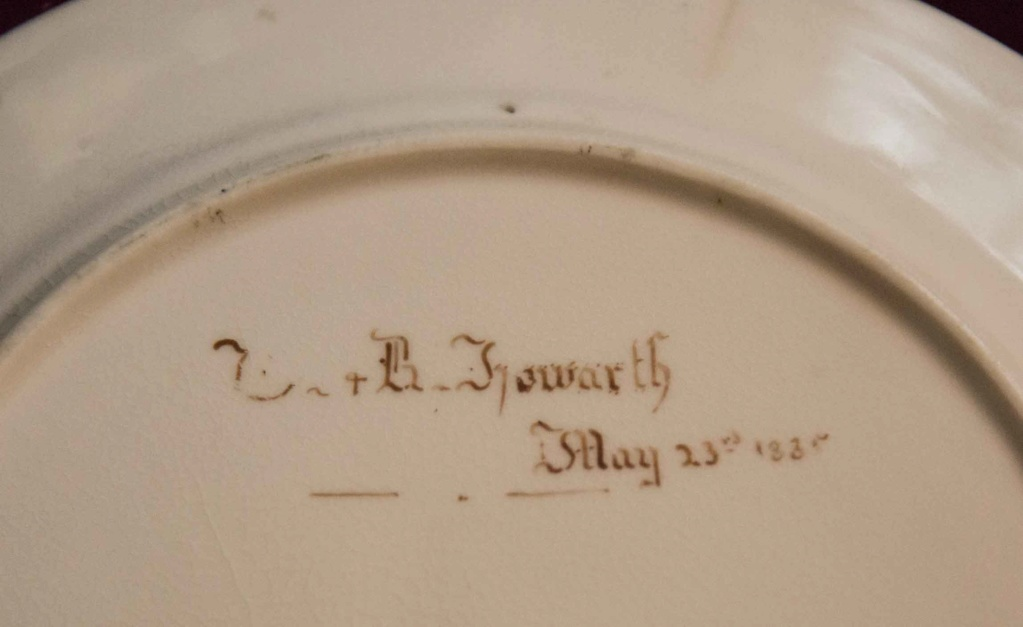 Early Victorian Plate - Howarth? Can anyone help clarify? Vplate11