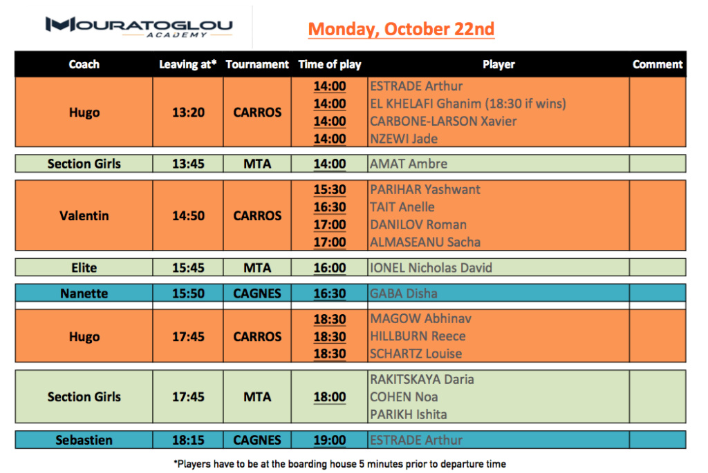 Monday, October 22nd Screen20