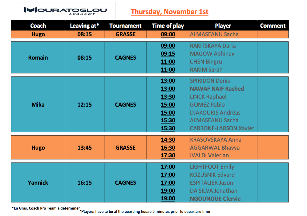 Tuesday, November 1st Screen32