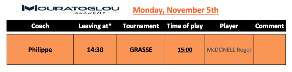 Monday, November 5th Screen38