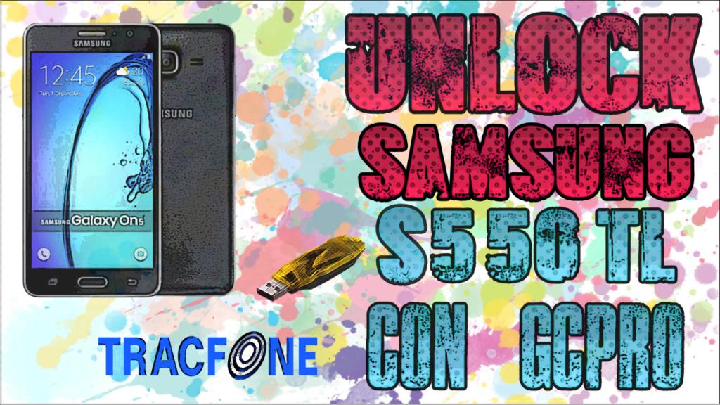 UNLOCK SAMSUNG ON5 TRACFONE S550TL G55010