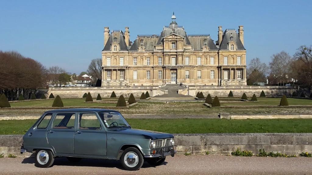 Presqu'un rassemblement de Renault R6 à Maisons Laffite ! Maison10