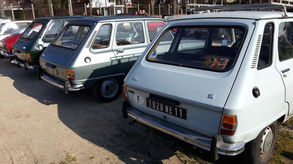 Presqu'un rassemblement de Renault R6 à Maisons Laffite ! Maison11