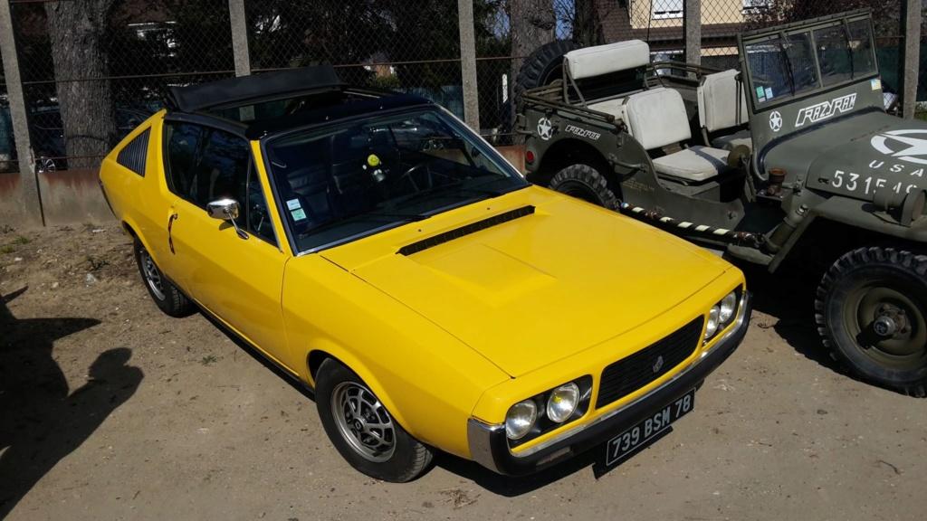 Presqu'un rassemblement de Renault R6 à Maisons Laffite ! Maison16