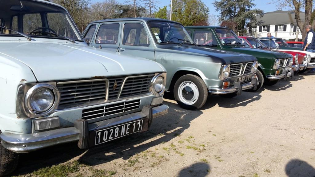 Presqu'un rassemblement de Renault R6 à Maisons Laffite ! Maison21