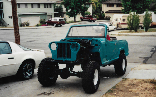 GMC BEATER PROGRESS or from future to past.. a story of building vehicles Jeepst11