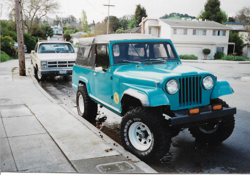 GMC BEATER PROGRESS or from future to past.. a story of building vehicles Jeepst12